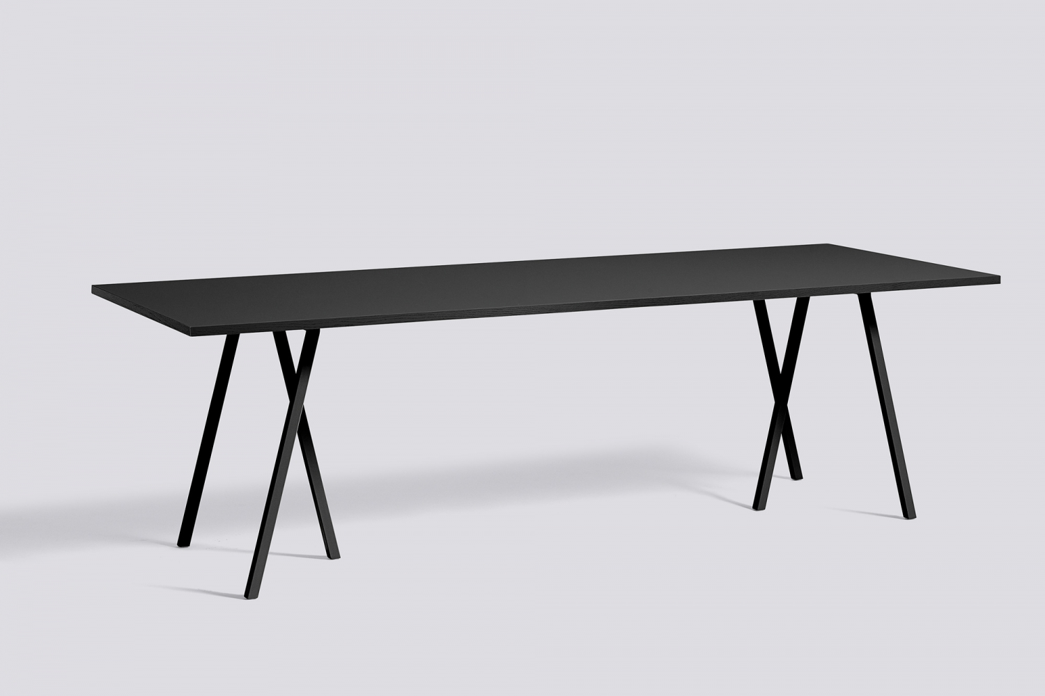 Loop stand table tables desks hayshop no for Table in table
